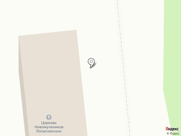 Никольский храм на карте Чехова