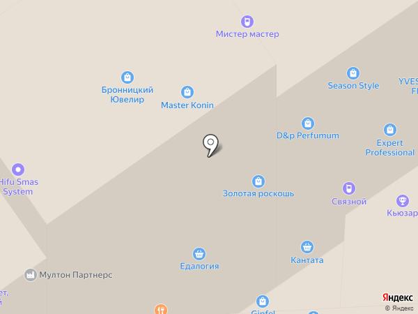 Ludra на карте Москвы
