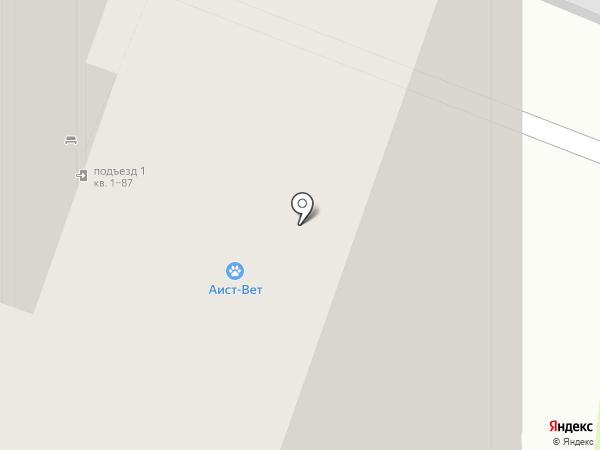 Аист-Вет на карте Москвы
