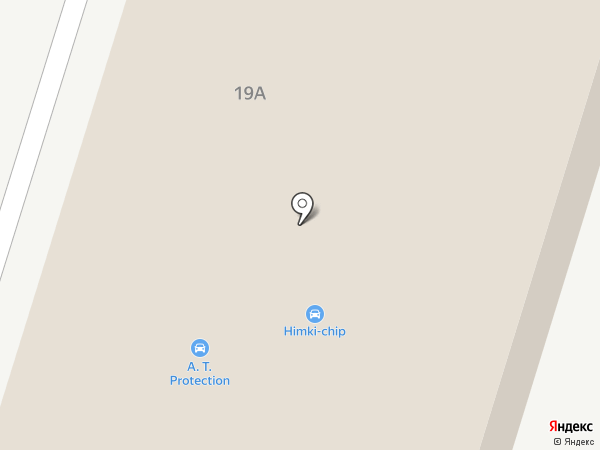 Пушистый Хвост на карте Химок