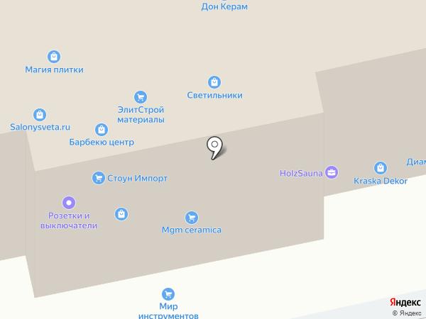 Паркетный Двор на карте Заречья