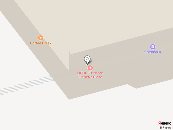 Банк Зенит, ПАО на карте Химок