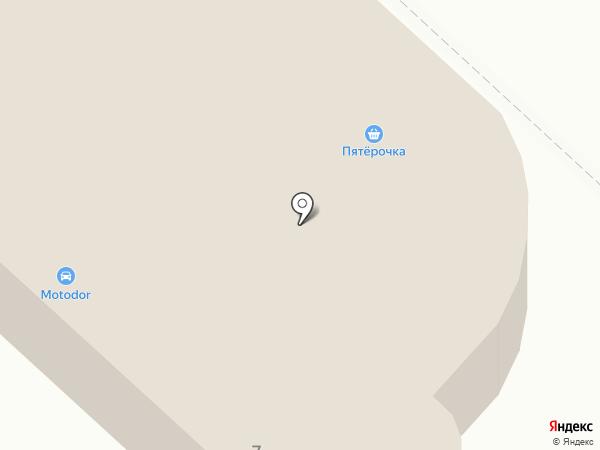 ИТЭК на карте Москвы