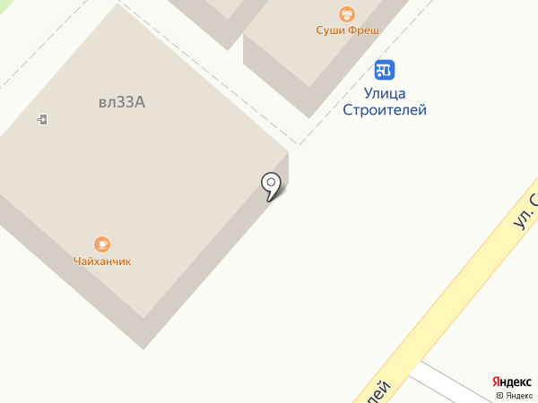 Хлебная лавка на карте Химок