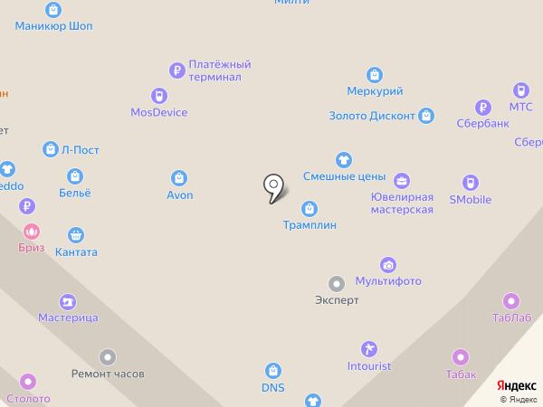 IntimShop.ru на карте Москвы