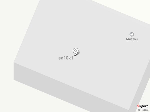 Милтон Т.Н.П. на карте Чехова