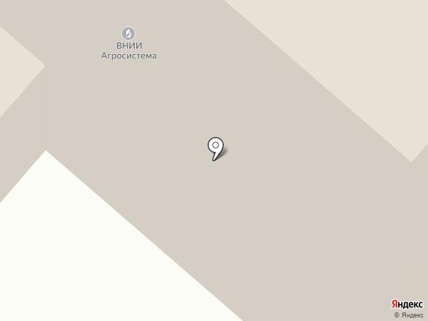 Печатная на карте Москвы