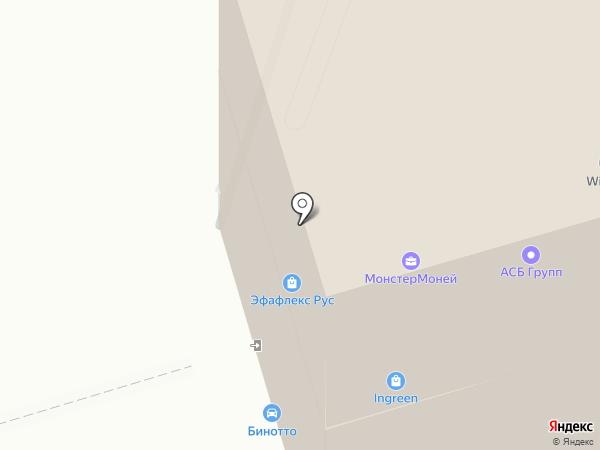 EseoLight на карте Москвы