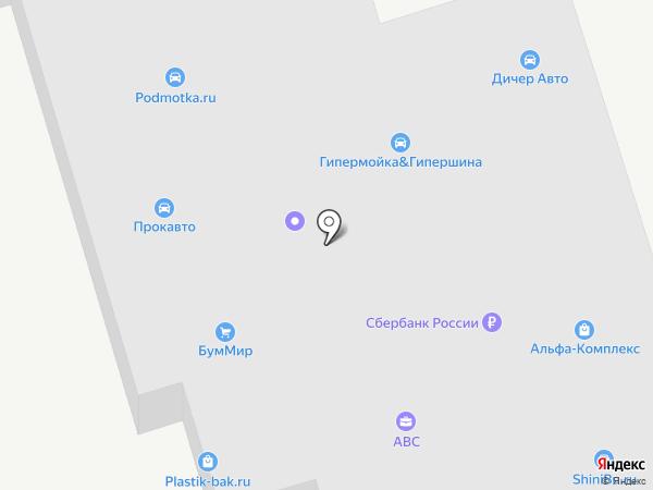 СинТЭК-Ойл на карте Москвы