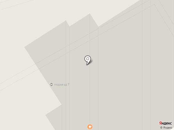 Аист на карте Лобни