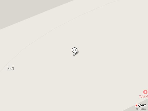 Планерный на карте Химок
