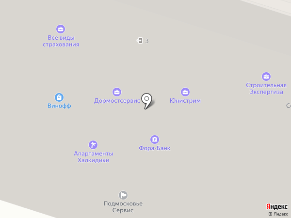 Ytong Shop на карте Химок