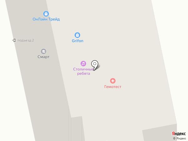 Росгосстрах банк, ПАО на карте Москвы