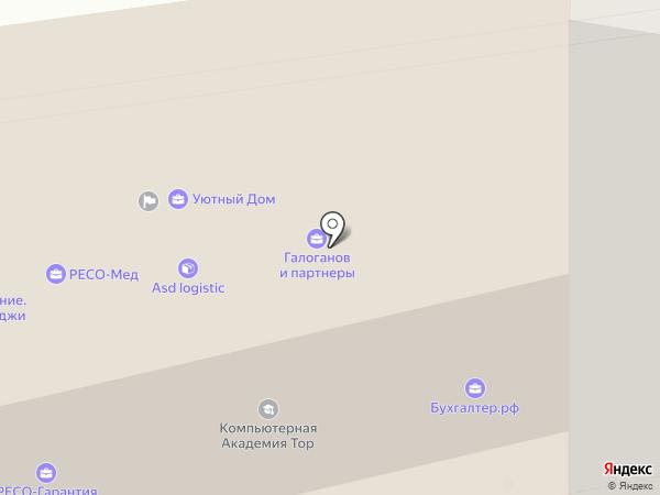 Милый Дом на карте Химок