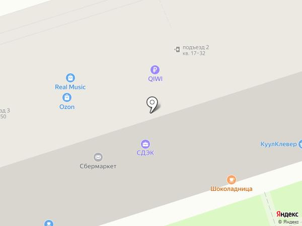 Rematec на карте Москвы