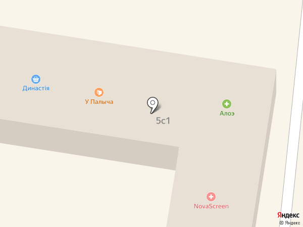 Династiя на карте Химок