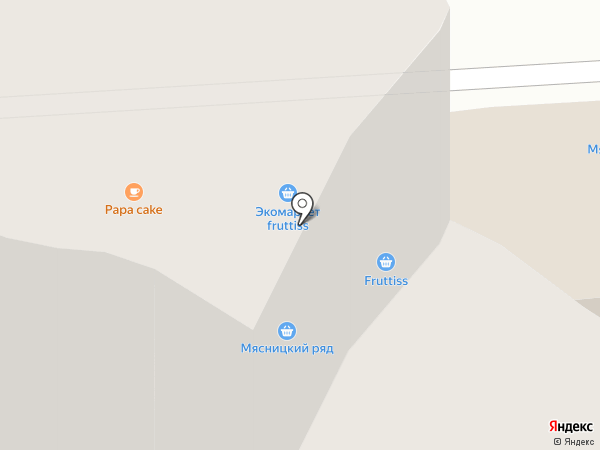 Красное & Белое на карте Химок