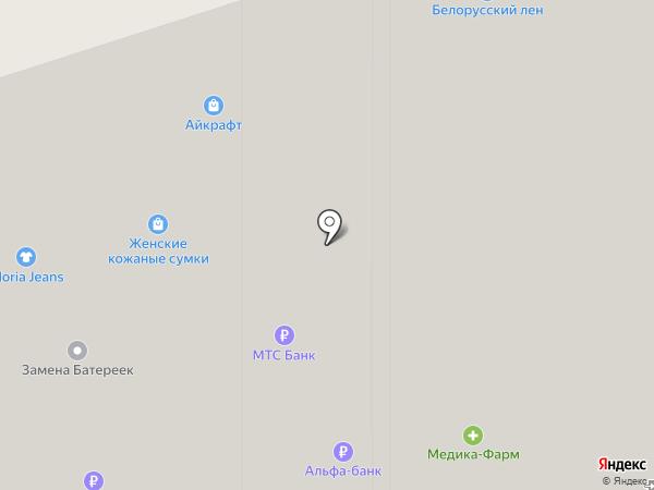 ASK на карте Москвы