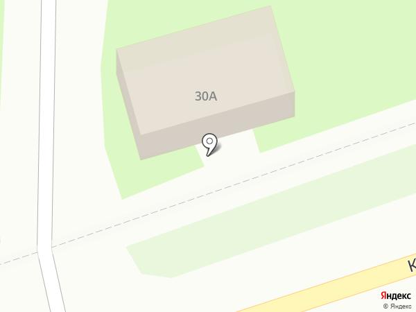 Незабудка на карте Лобни