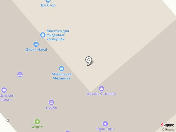 ИНТЕРСКОЛ на карте Химок