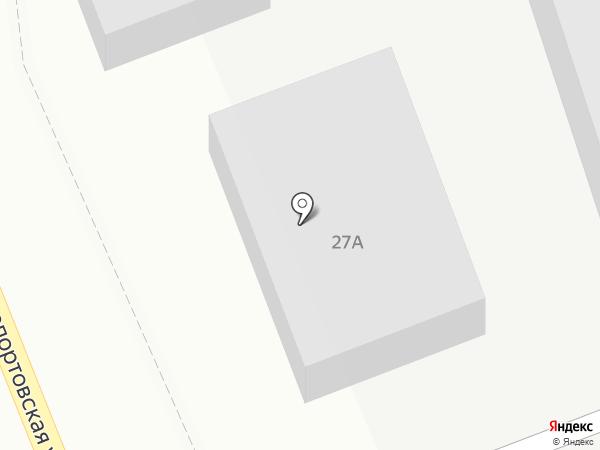 Хлебный двор на карте Лобни
