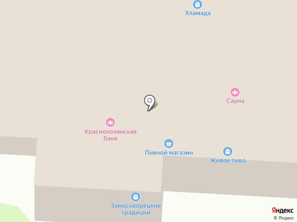 Баня на Спортивной на карте Лобни