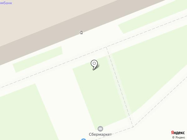 Магнит Косметик на карте Лобни