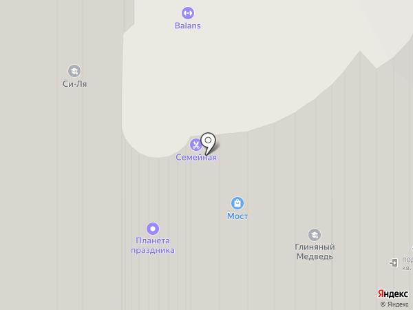 Дельфин на карте Химок