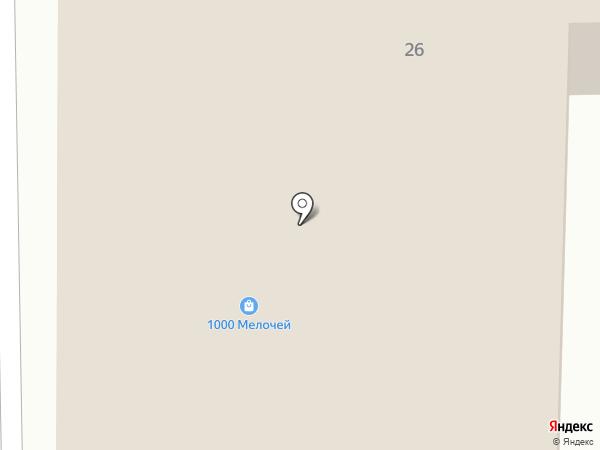 Магазин мясной продукции на Кранополянской на карте Лобни