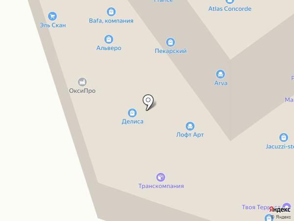 Maripak Moscow на карте Москвы