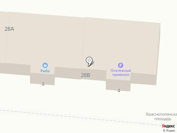 Двин на карте Лобни