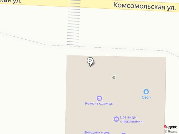 Тет-А-Тет на карте Чехова