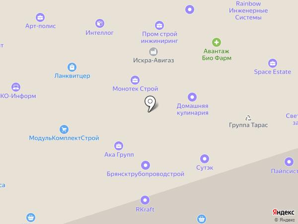 ФриЛэндЛогистикс на карте Москвы