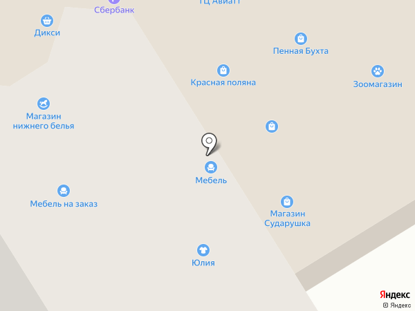 Стиль смарт на карте Лобни
