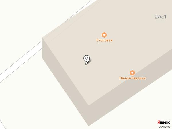 Печки-лавочки на карте Троицкого