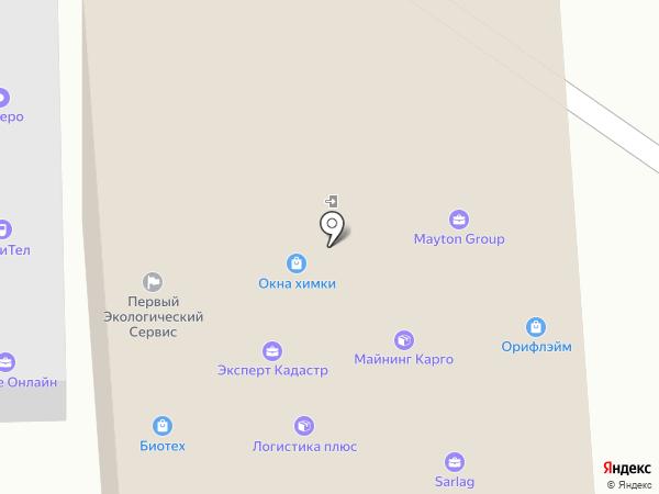 Полосатая лошадка на карте Химок