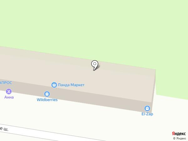 Останкино на карте Химок