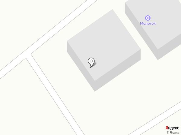 Климоский теплоблок на карте Троицкого
