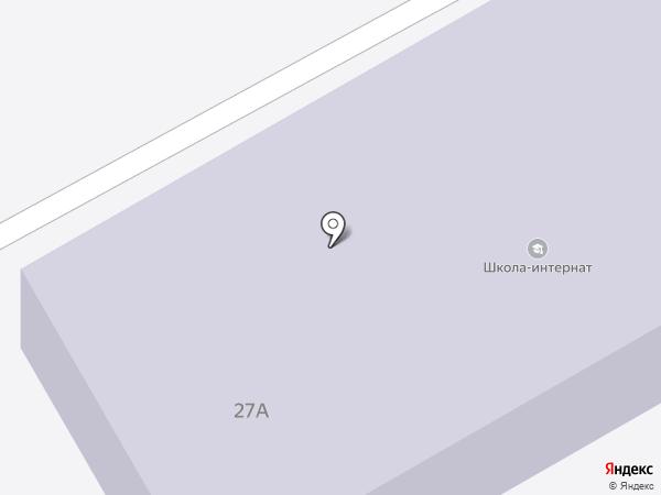 Чеховская школа-интернат на карте Чехова