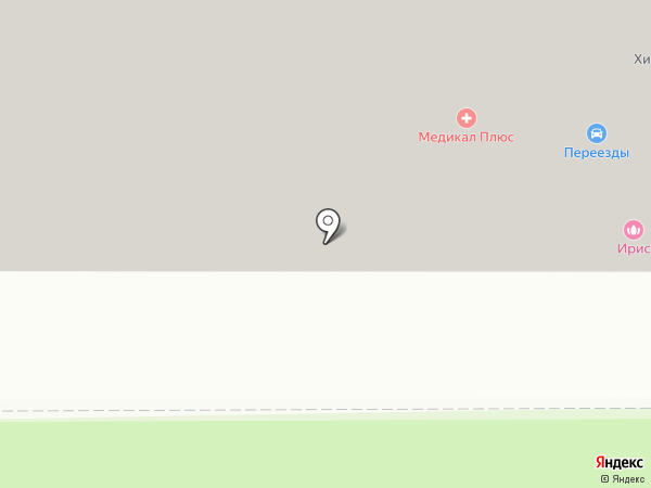 Мост на карте Химок
