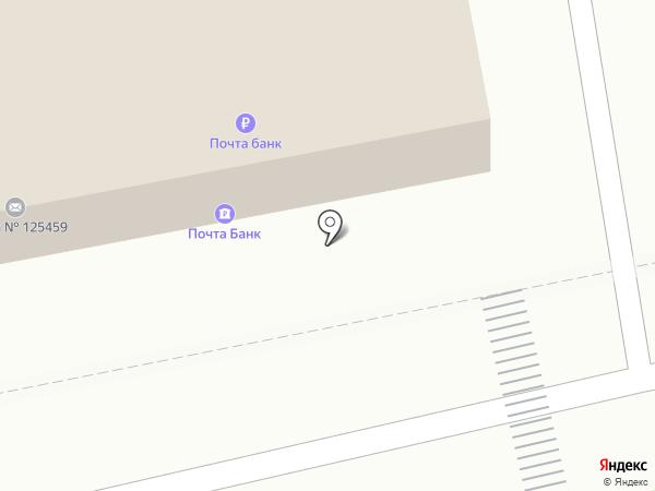 Копиркин на карте Москвы