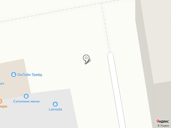 Магазин электротоваров и сантехники на карте Москвы