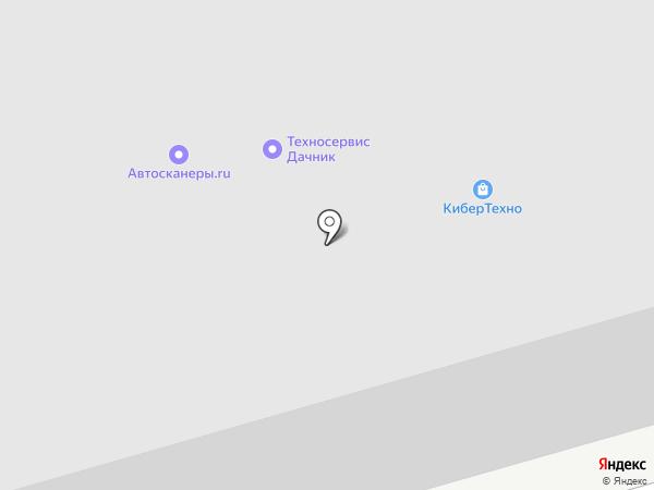 Miatrix на карте Москвы
