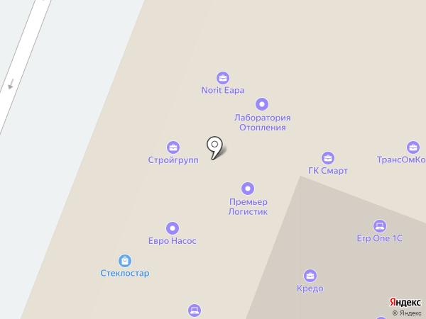 Decotec на карте Москвы
