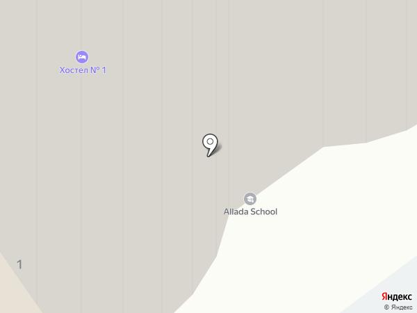 Химки-Денто на карте Химок