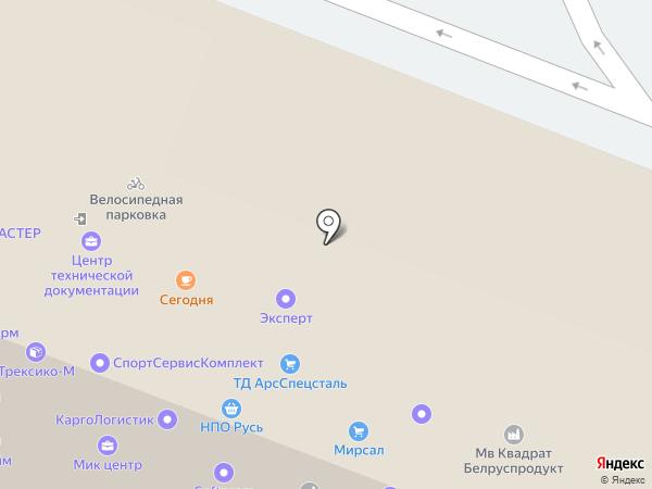 ТракАвтоСтрой на карте Москвы