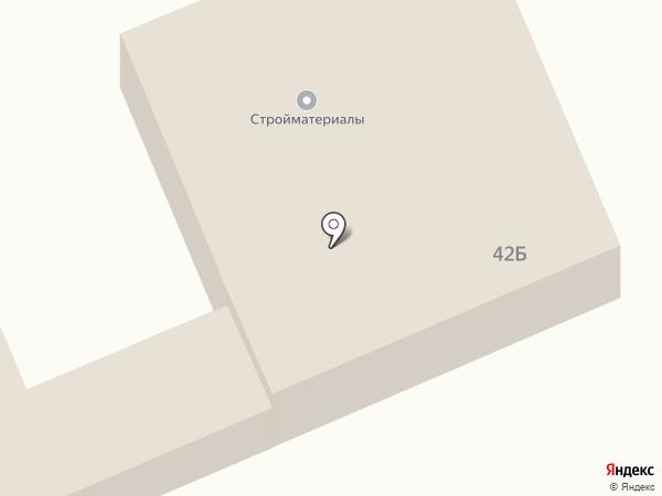 Магазин строительных материалов на карте Лобни