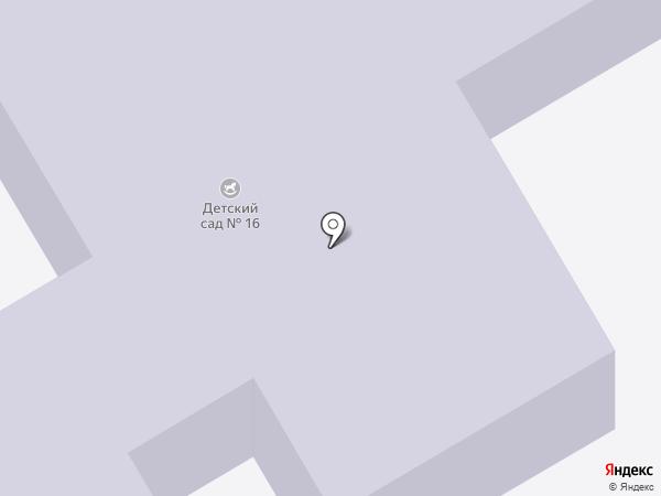 Детский сад №16 на карте Чехова
