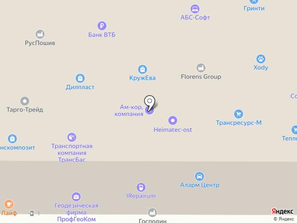 Аттракционы-Союз на карте Москвы