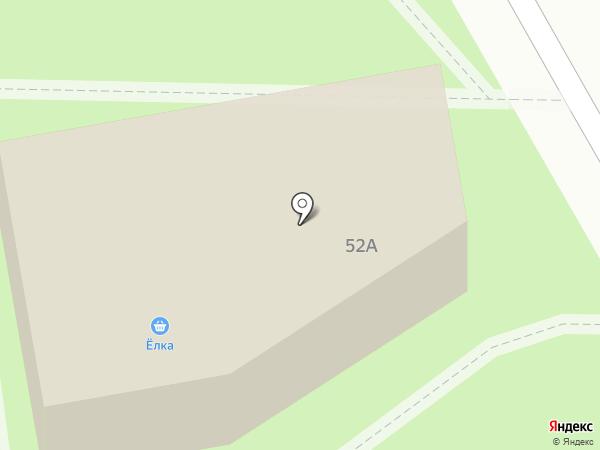 Ёлка на карте Чехова